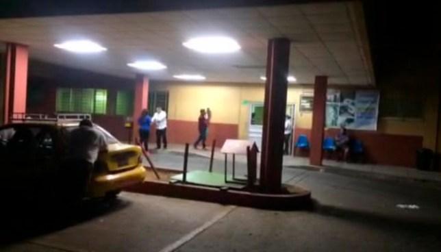 Hombre muere tras ser atacado a balazos en un evento político en Ozatlan, Usulutan
