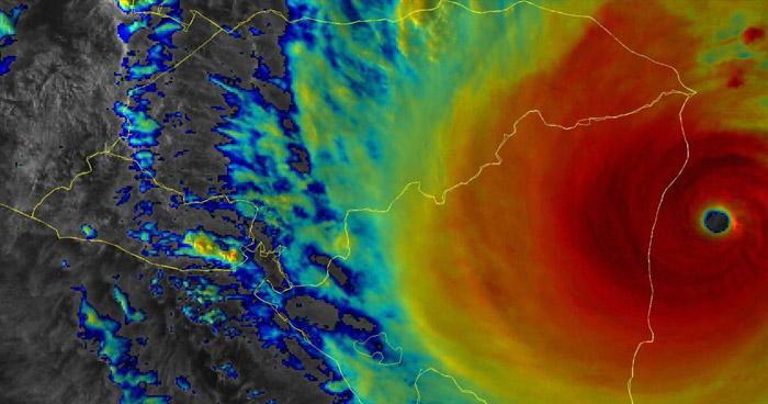 Iota pierde fuerza y se degrada a huracán categoría 1