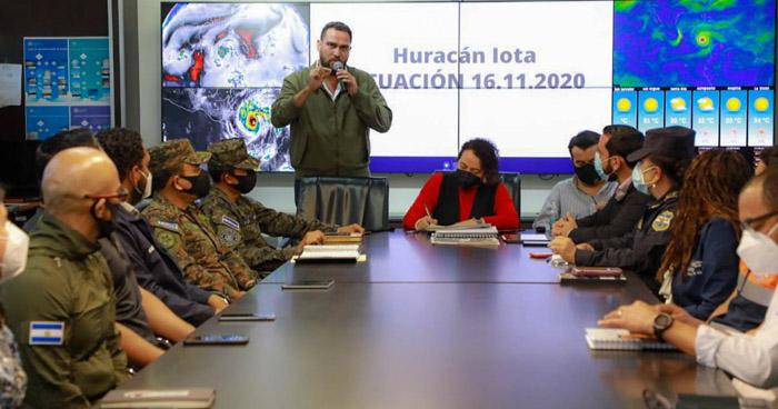 Habilitan de albergues y suspenden clases en el marco de la Alerta Roja por huracán Iota