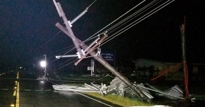 """Huracán """"Laura"""" causó destrucción y deja 3 fallecidos en Louisiana, Estados Unidos"""