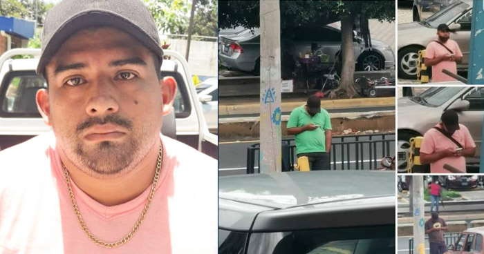 Capturan a sujeto que hurtaba objetos de vehículos estacionados en Paseo General Escalón