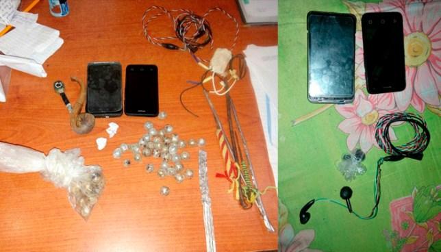 Decomisan 64 objetos ilícitos en el centro penal de Apanteos tras intento de amotinamiento