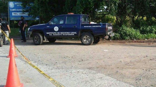 Delincuentes asesinan a balazos a un hombre en el cantón Anchico, San Miguel