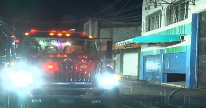 Incendio se registró en bodega cerca del Mercado Central
