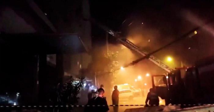 Al menos 10 muertos tras incendio en Hospital de Río de Janeiro