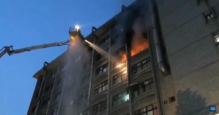Nueve muertos y más de 10 heridos tras incendio en un hospital de Taiwán