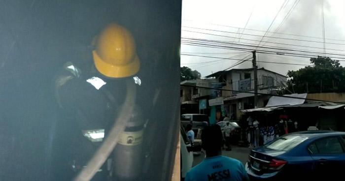 Extinguen incendio en vivienda de Soyapango