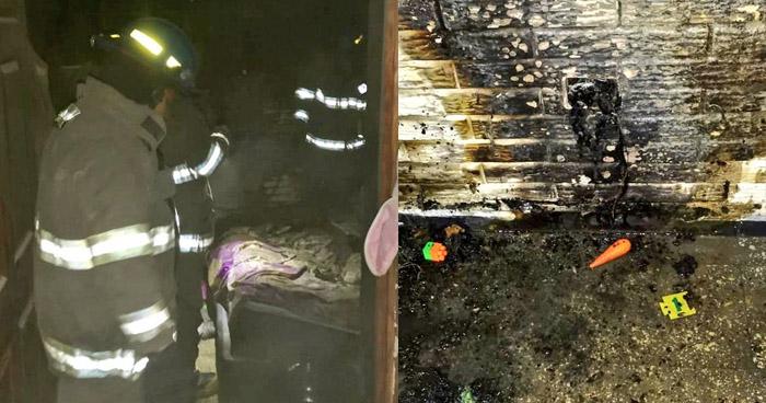 Incendio causa daños en vivienda de San Marcos