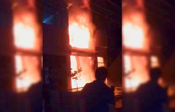Al menos 7 personas fallecen tras incendio de edificio en Perú