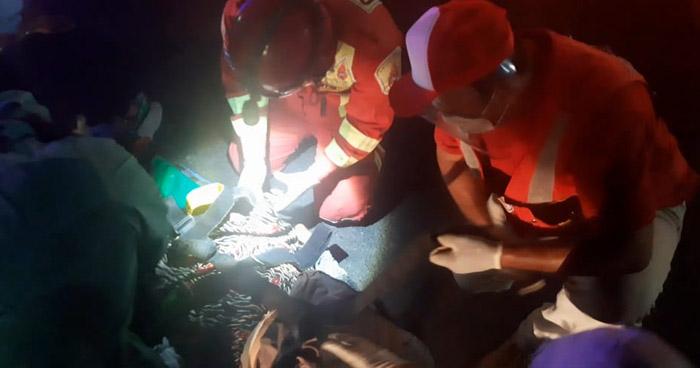 Indigente muere al ser atropellada sobre 49 Avenida Sur de San Salvador