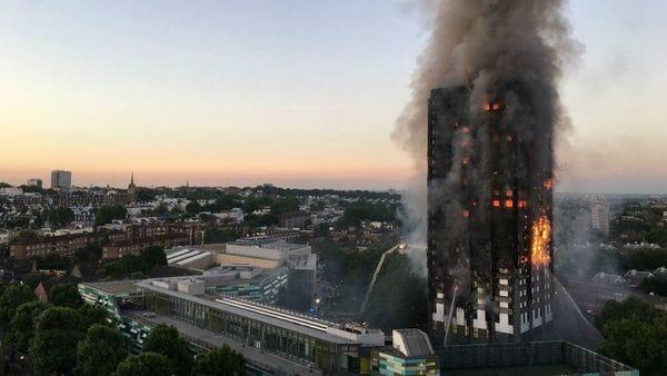 La explosión de una refrigeradora produjo el incendio en Londres