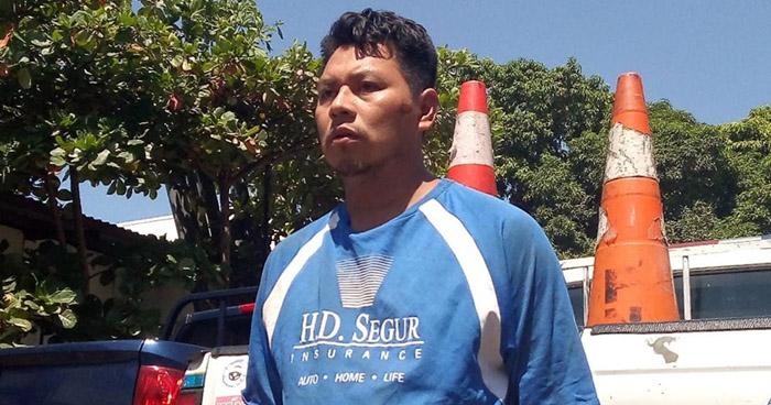 Capturado por irrumpir en vivienda en Juayúa, Sonsonate