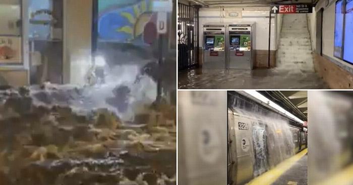 """Al menos 8 personas murieron por """"brutales inundaciones"""" en Nueva York"""