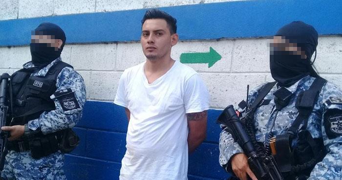 """Capturan a """"El Justiciero"""", peligroso pandillero que operaba en el occidente del país"""