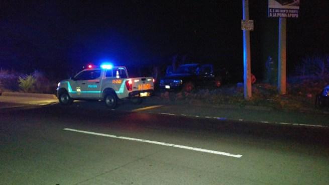 Ataque armado contra vehículo donde se transportaban 3 investigadores de la PNC