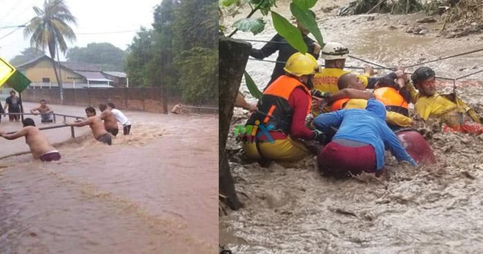 Huracán Iota causa destrucción en Nicaragua y Honduras, recientemente afectados por Eta
