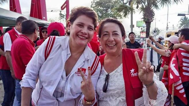 Jackeline Rivera confirmada como candidata a Alcadesa de San Salvador por el FMLN
