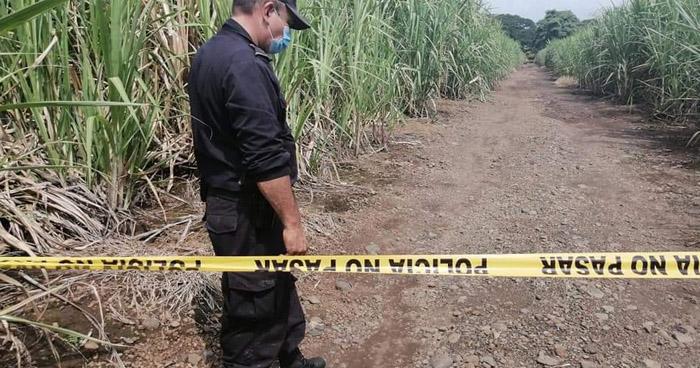 Hombre fue privado de libertad y asesinado en el interior de un cañal en Usulután