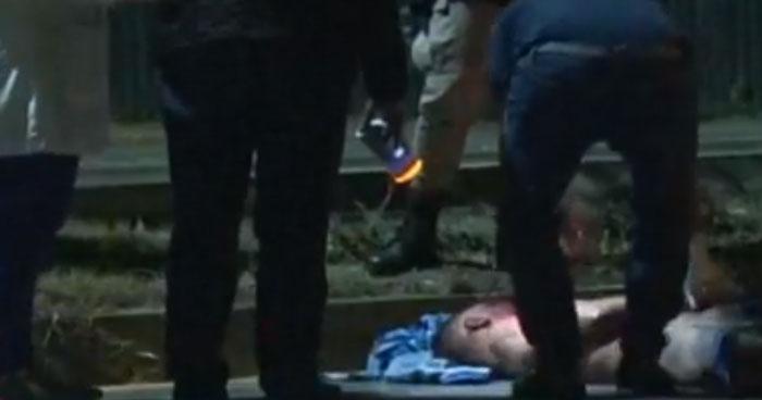 Joven muere tras ser atropellado en carretera a Comalapa
