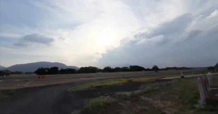 Probabilidad de lluvia con caída de granizo en la zona central y occidental del país