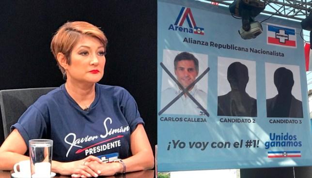 """Diputada Karla Hernández: """"ARENA tenía servidas las presidenciales y hoy las entregó"""""""