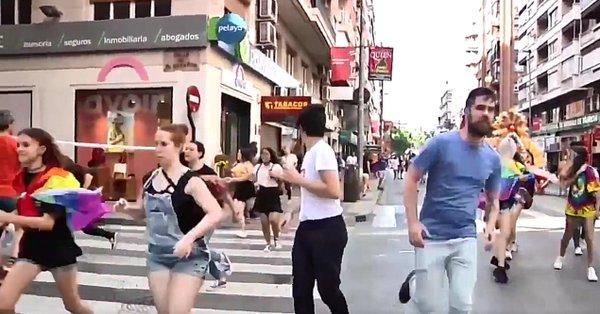 Neonazis agreden a manifestantes del orgullo LGTB en España