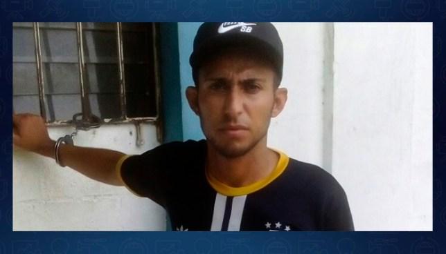 """Capturan a reconocido ladrón de """"la moto roja"""" en Ciudad Delgado"""