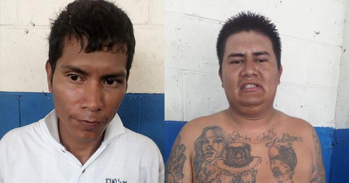 Capturan a 2 asaltantes instantes después de asaltar a pasajero de microbús en San Salvador