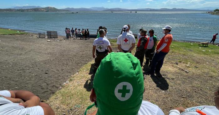 Hallan cuerpo de hombre que desapareció en Lago de Güija