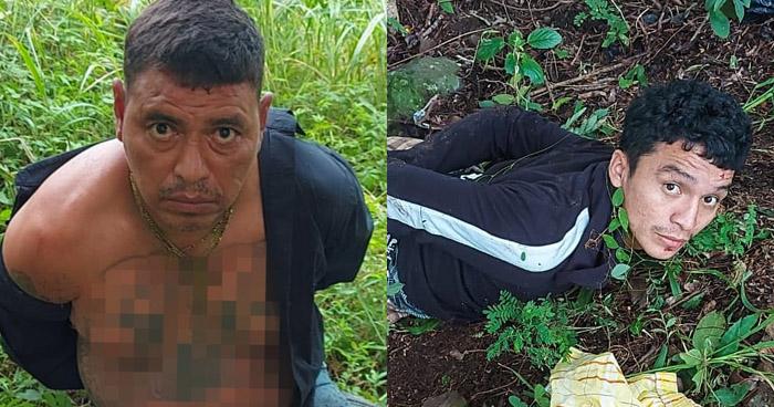 Capturan a sujetos con droga y armas de fuego en Chalatenango