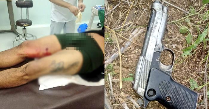 Lesionado tras atacar patrulla policial en Yucuaiquín, La Unión