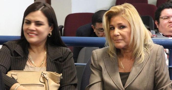 Ana Ligia de Saca movía dinero entre cuentas bancarias para dificultar el rastreo