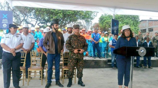 La Alcaldía de San Salvador y el MARN inician plan de limpieza en el Área Metropolitana