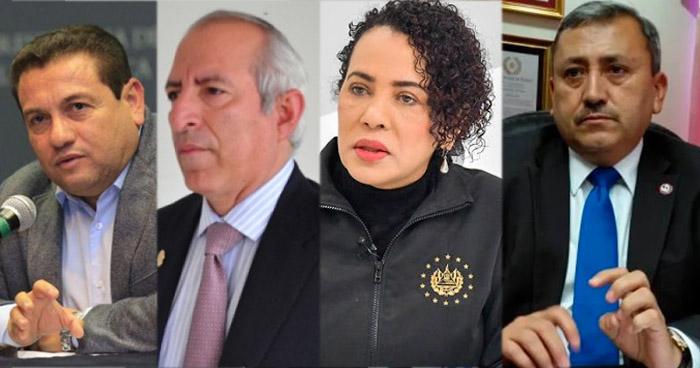 Estos son los nombres mencionados en la Lista Engel en El Salvador por corrupción