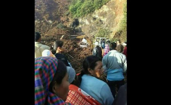 Guatemala: 11 fallecidos por desprendimiento de tierra en Huehuetenango