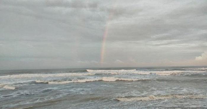 Se esperan lluvias con intermitencia sobre la zona occidental y costera del país