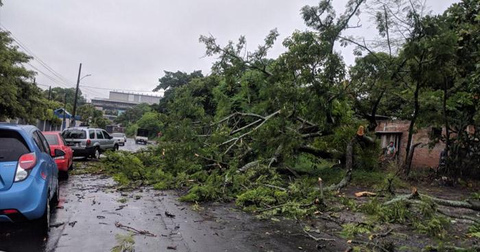 Alerta Verde por lluvias intensas de tipo temporal