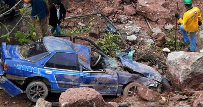 Al menos 8 hondureños murieron durante lluvias que también provocaron inundaciones