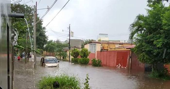 Probabilidad de lluvias con énfasis en los departamentos de Santa Ana, Chalatenango, Cabañas, Morazán y La Unión