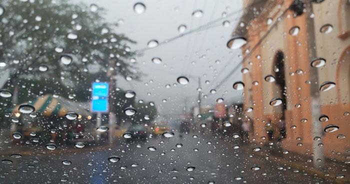 Probabilidades de lluvias aisladas con énfasis en la zona occidental del país