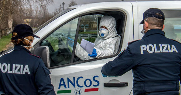 Italia: Registran más de 100 muertes por Coronavirus en las últimas 24 horas