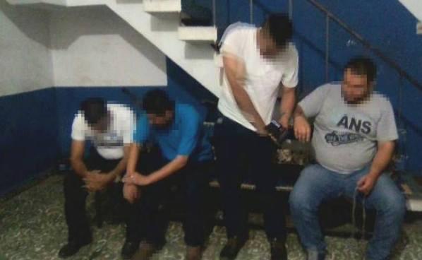 Cuatro personas fueron capturadas por la PNC en diferentes puntos del país
