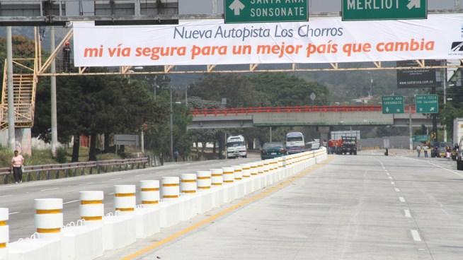 La circulación en la Autopista Los Chorros vuelve a la normalidad a partir de mañana