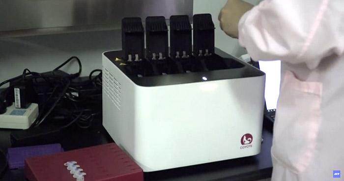 """Esta es la maquina """"más rápida del mundo"""" para hacer pruebas PCR de COVID-19"""