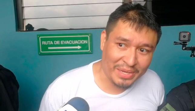 Presentan requerimiento contra Mario Huezo, presunto asesino de Karla Trucios