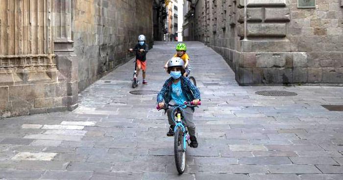 Uso de mascarilla será obligatoria en personas a partir de los 6 años de edad en España