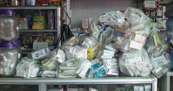 Encuentran medicamentos robados del ISSS en vivienda