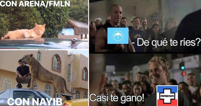 Tendencia: Los memes tras la victoria de Nayib se viralizan en redes sociales