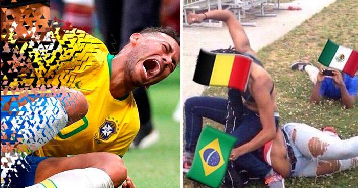 Los MEMES de la eliminacion de Brasil del mundial Rusia 2018