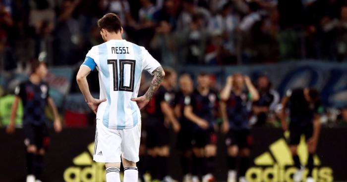 Resultado de imagen para croacia 3 argentinas 0